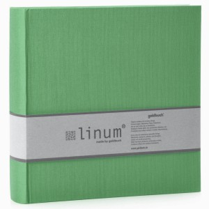 Goldbuch Linum slip-in album voor 200 foto's 10x15cm light green
