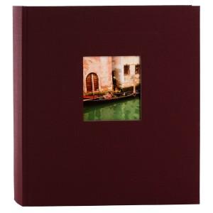 Goldbuch Bella Vista fotoalbum 25x25 bordeaux