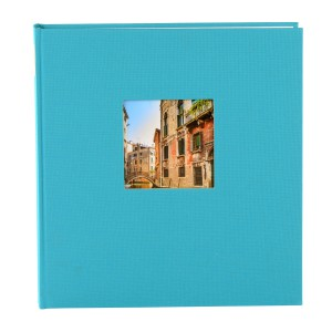 Goldbuch Bella Vista fotoalbum 25x25 turquois
