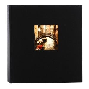 Goldbuch Bella Vista fotoalbum 25x25 black
