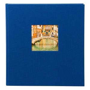 Goldbuch Bella Vista fotoalbum 30x31 blue (zwarte bladen)