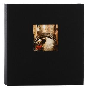 Goldbuch Bella Vista fotoalbum 30x31 black (zwarte bladen)