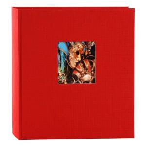 Goldbuch Bella Vista fotoalbum 30x31 red (zwarte bladen)