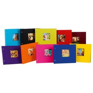 Goldbuch Bella Vista losbladig album 30x25 (zwarte bladen) (ass 10 st)