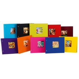 Goldbuch Bella Vista losbladig album 39x31 (zwarte bladen) (ass 10 st)