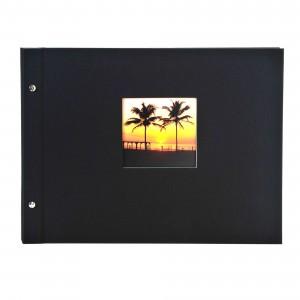 Goldbuch Bella Vista losbladig album 39x31 black (zwarte bladen)