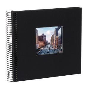 Goldbuch Bella Vista spiraal album 21x20 black (zwarte bladen)