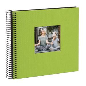 Goldbuch Bella Vista spiraal album 21x20 green (zwarte bladen)