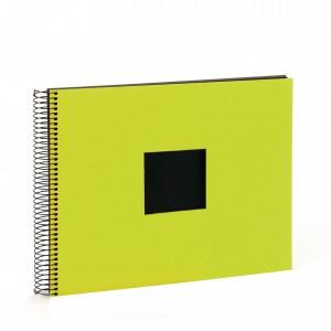 Goldbuch Bella Vista spiraal album 35x30 green (zwarte bladen)