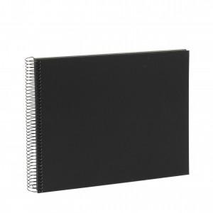 Goldbuch Bella Vista spiraal album 35x30 black (zwarte bladen)