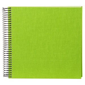 Goldbuch Linum spiraal album 21x20 light green (crème bladen)