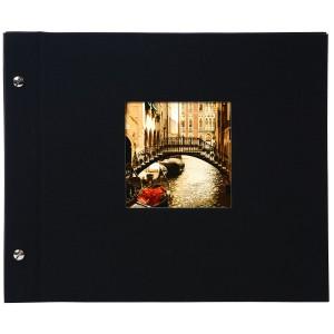 Goldbuch Bella Vista losbladig album 30x25 black