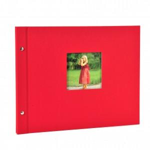 Goldbuch Bella Vista losbladig album 39x31 red