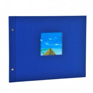Goldbuch Bella Vista losbladig album 39x31 blue