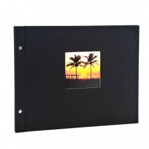 Goldbuch Bella Vista losbladig album 39x31 black