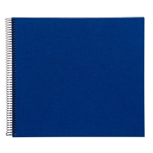 Goldbuch Bella Vista spiraal album 35x30 blue