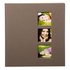 Goldbuch Style fotoalbum 30x31 taupe