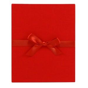 Goldbuch Linum leporello voor 10 foto's 13x18cm red (4 st)
