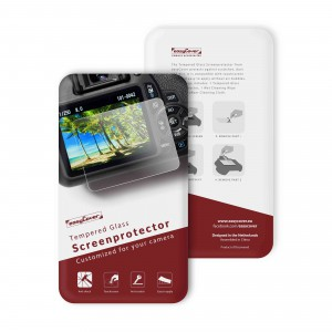 easyCover Glass Screen Protector for Canon 1300D/2000D