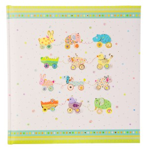 Goldbuch Animals on Wheels baby album 30x31 (zonder tekst)
