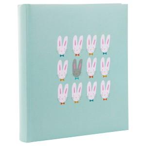 Goldbuch Cute Bunnies baby album 30x31 blue (zonder tekst) OP=OP