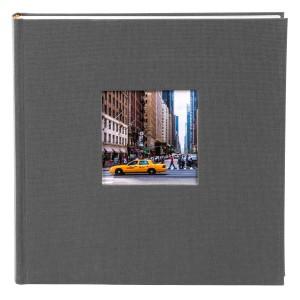 Goldbuch Bella Vista slip-in album voor 200 foto's 10x15cm grey