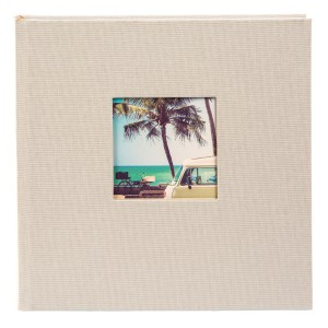 Goldbuch Bella Vista slip-in album voor 200 foto's 10x15cm sandgrey