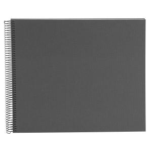 Goldbuch Bella Vista spiraal album 35x30 grey