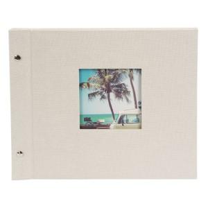 Goldbuch Bella Vista losbladig album 30x25 sandgrau