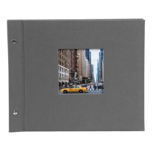 Goldbuch Bella Vista losbladig album 30x25 grey