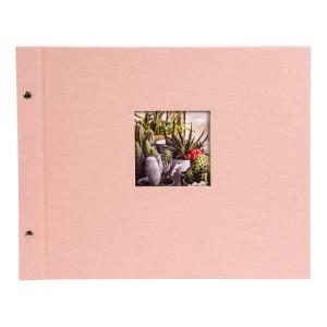 Goldbuch Bella Vista losbladig album 39x31 rosé