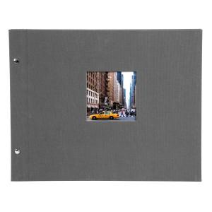 Goldbuch Bella Vista losbladig album 39x31 grey