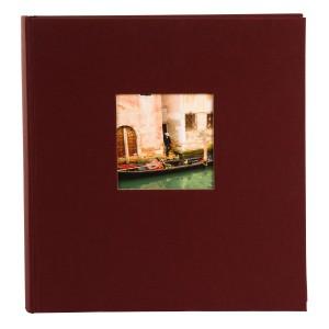 Goldbuch Bella Vista fotoalbum 30x31 bordeaux