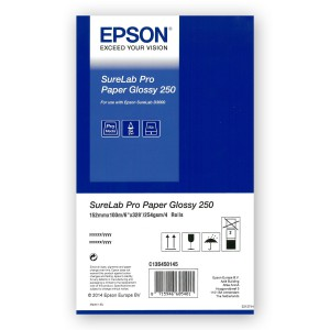 EPSON Pro Paper Glossy 250g/m² 152mm 4x 100m for SureLab