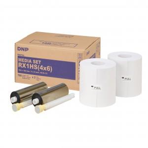 DNP Papier DSRX1HS-4X6 2x 700 prints 10x15cm