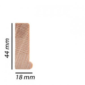 FIDAK Spielatten NC3 55cm x 18mm Classic 45 incl. 2 spie