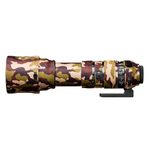 easyCover Lens Oak for Sigma 150-600mm f/5-6.3 DG OS HSM | S Brown Camouflage