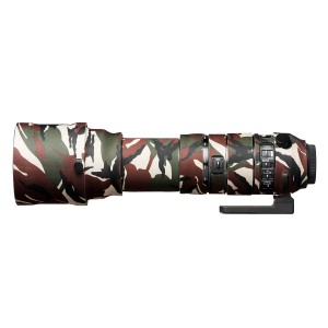 easyCover Lens Oak for Sigma 150-600mm f/5-6.3 DG OS HSM | S Green Camouflage