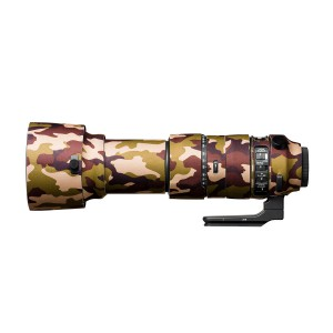 easyCover Lens Oak for Sigma 60-600mm f/4.5-6.3 DG OS HSM | S Brown Camouflage