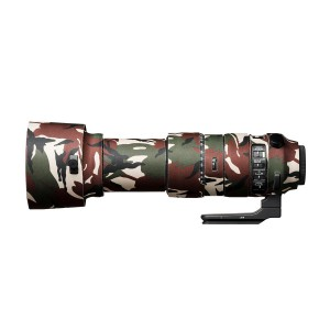 easyCover Lens Oak for Sigma 60-600mm f/4.5-6.3 DG OS HSM | S Green Camouflage