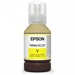 EPSON Dye Sublimation T49N4 Yellow 140ml for SureColor SC-F100/F500