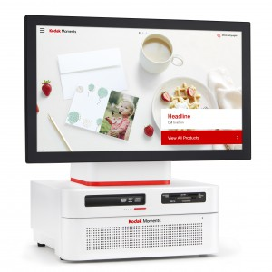 KODAK PICTURE KIOSK G20 ORDER STATION RED/WHITE