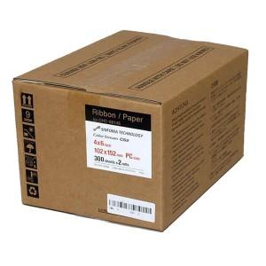"""SINFONIA 4X6"""" / 102X152MM / 2X300 Prints For CS2 Printer"""