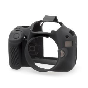 easyCover ECC1200DB Coque en Silicone pour Canon 1200D Noir