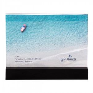 Goldbuch Solid fotolijst 10x15 black