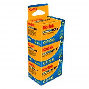 KODAK ULTRA MAX 400 135-36 3 PAK BLISTER