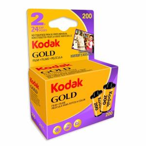 KODAK GOLD 200 135-24 2 PAK BLISTER