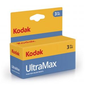 KODAK ULTRA MAX 400 135-24 3 PAK BLISTER