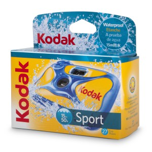 KODAK WATER SPORT CAMERA 27 ISO 800