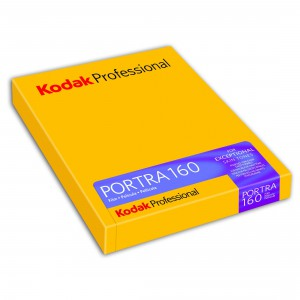 "KODAK PORTRA 160 4X5"" 10SH"